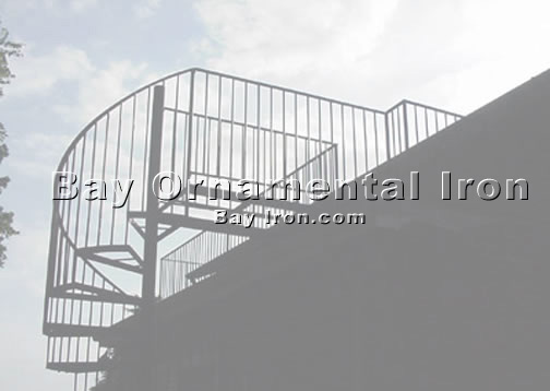 Bay Ornamental Iron: Stairs